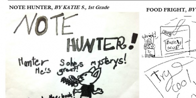 Katie S Notehunter Cartoon